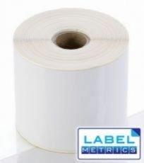 Label Metrics 10,000 76.2mm x 101.6mm White Direct Thermal Labels - Zebra Type Printer (76x102mm)