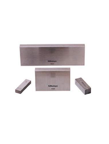 Mitutoyo Stahl Rechteckige Bohrung Gage Setup Kit, ASME Grade 0, 1,0-40 mm Länge (8 Blöcke + Zubehör) -