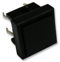 SWITCH, PUSH BUTTON, SQUARE, SPST, BLACK TS0A22 By MULTICOMP -