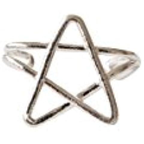 925 stella Orecchio Cuff-FXstella orecchini, argento stella gioielli, argento stella forma orecchini, argento stella forma gioielli, argento stella forma gioielli, argento stella pendente o