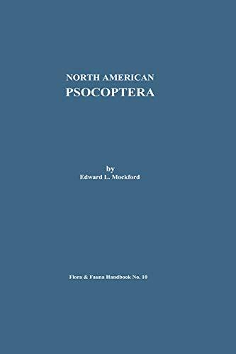 North American Psocoptera (Flora and Fauna Handbook Book 10) (English Edition)