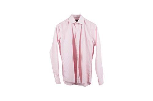 Preisvergleich Produktbild LAWRENCE GREY Herren Freizeithemd Hemd Gr: 40 rot-weiß