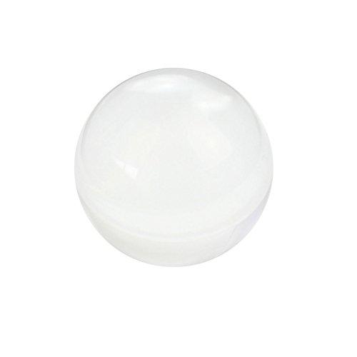 Transparente Bola Vidrio Cristal Redondo Esfera Ornamento Decoración Hogar