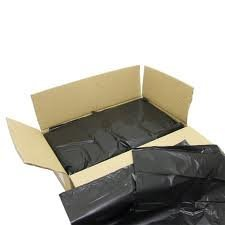 Thali Outlet Leeds Tischdeckchen - schwarz Schwerlast 200 x Müllsäcken Abfalleimer Linner Tüten/Größe 45,72 cm x 73,66 cm x 99,06 cm / - Box 180 Gauge