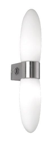 Trio-Leuchten-280870207-Faretto-da-parete-in-nichel-satinato-vetro-opalino-bianco-opaco-2-x-G9-33W-con-interruttore-altezza-40-centimetri