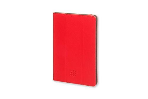 Preisvergleich Produktbild Moleskine - Ipad Hülle - Klassisches Etui - Schutzhülle Ledertasche für Cover Ipad Mini 4 - Leder Scharlachrot