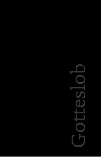 Gotteslob-Buchhülle: Kunststoff. schwarz