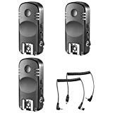 Neewer 3-Pack 2,4GHz 7 Canales Inalámbrico Control