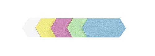 Legamaster 7–256199–Tarjetas de moderación rhomben 205x 95mm, combinaciones, 500unidades)