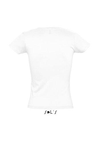 SOL'S - T-shirt -  Femme Blanc - White - White