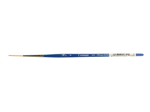 Winsor & Newton Aquarell - Pinsel Cotman Serie 333 Nr. 0-1,2 mm, Rund - Takelage - Pinsel, kurzer - Winsor öl-pinsel
