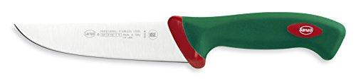 Sanelli Premana Coltello macellaio Francese, Acciaio Inossidabile, Verde, 16 cm