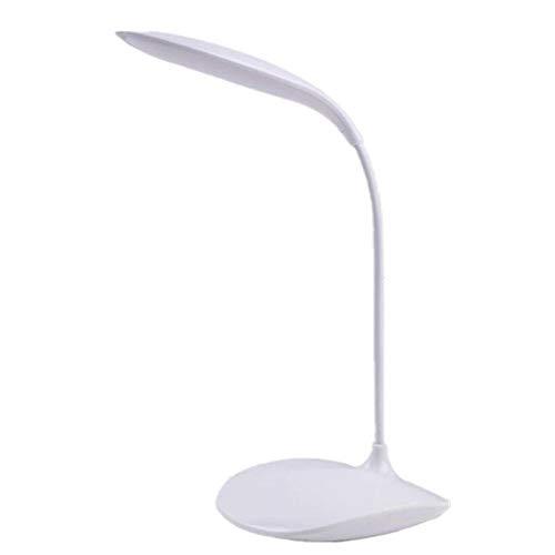 LED pequeña lámpara de mesa usb carga interruptor de botón de ...