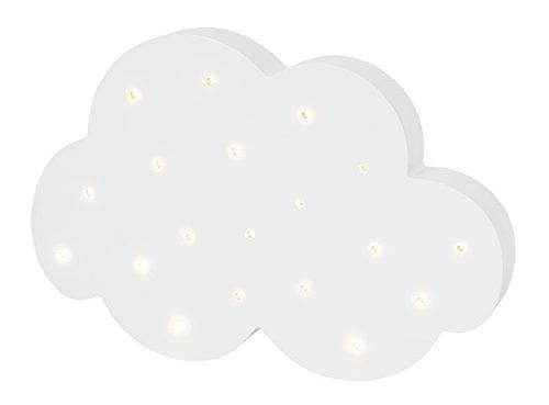"""JaBaDaBaDo LED Lampe \""""Wolke\"""" Kinderzimmerlampe Schlummerlicht Wanddeko Leuchte Stimmungsleute Stimmungslampe Motivlampe Kinderzimmer Baby"""