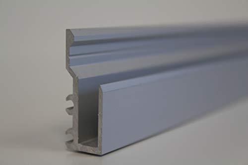 Spiegelprofil Befestigung für Spiegel Wandspiegel Spiegelwände bis 6 mm Stärke (2.0)