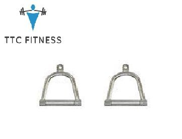 TTC Fitness Cable Cross Handle (GYM MACHINE ACCESSORIES) 2 pcs  available at amazon for Rs.690