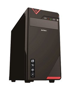INTEX IT-412 USB CABINET WITH SMPS ( BLACK )