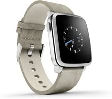 Pebble Time Steel Smartwatch - Silver