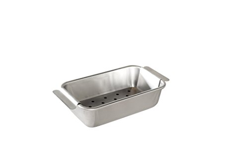 Nordic Ware Naturals Meat Loaf Pan and Lifting Trivet, Multicolor -