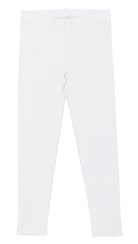 Celodoro - Leggings - niña Weiß 122 cm/128 cm