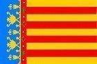 Spanien Valencia Spanisch White Ensign 3Ft Flagge