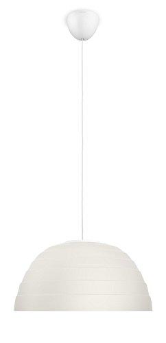 Philips Var Lampadario Moderno LED, Cucina, Camera da Letto, Salotto, 1 Lampadina da 4.5 W Inclusa, Beige Crema