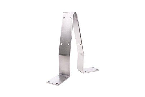 Rückenlehnenwinkel Edelstahl Rückenlehnenhalter Sitzbank Rückenlehne Bank Bett V2A K240 (1 Stück)