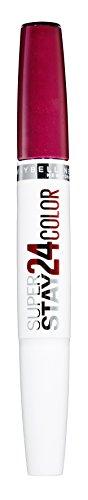 Maybelline New York Make-Up Lippenstift Super Stay 24h Color liquid Lipstick Extreme Fuchsia / Kräftiges Pink mit 24 Stunden Halt, 1 x 5 g