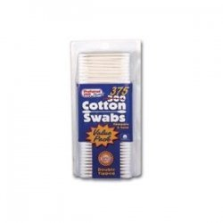 COTTON SWABS ***KPP Size: 375 by PREFFERED PLUS PRODUCTS