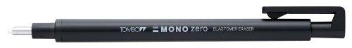 Tombow Mono zero Präzisionsradierer-Set, runde Spitze, mit 2 zusätzlichen Minen zum Nachfüllen,...