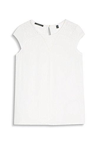 Esprit 037eo1k012, T-Shirt Femme Blanc (Off White)