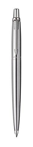 comprare on line Parker S0705560 Penna a sfera Linea Jotter Premium, pulsante, Grigio (Stainless Steel Chrome Trim) prezzo