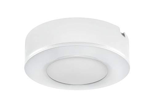 Secom TURE LED, Superfice Blanco, 70 mm Ø, 4w, 230 lúmenes, 6000ºK...