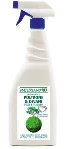 Naturiamo detergente poltrone e divani pelle e tessuto - spray 750 gr