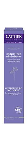 Cattier Songe Fleuri, Regenerierende Nachtcreme, 50 ml