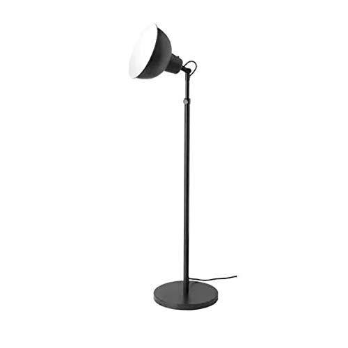 IKEA SKURUP Deckenfluter in schwarz; A++