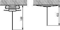 Legrand Notfälle Verschreibung 661043-Zubehör Hinweisschild