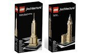 Lego Architecture Bundle: Empire State Building 21002 And Big Ben Clock Tower 21013 By Lego Picture