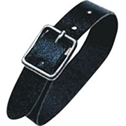 GBC Leatherstraps 120 mm x 10 mm Pack of 100, Black