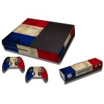 RISHIL WORLD Dutch Flag Pattern Decal Stickers for Xbox One Game Console