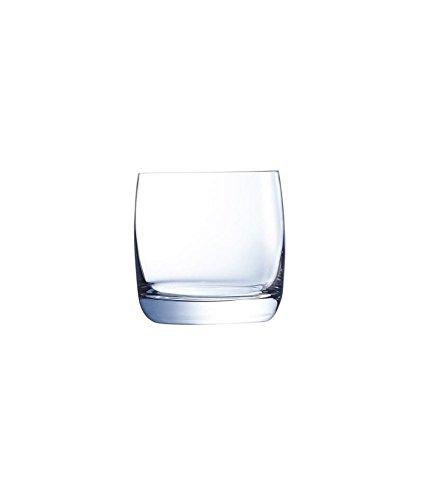 Chef & Sommelier Lot de 6 Whisky de 310 ML, sans Marque de Remplissage