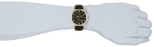 Hugo Boss Herren-Armbanduhr Analog Quarz Leder 1512448 -