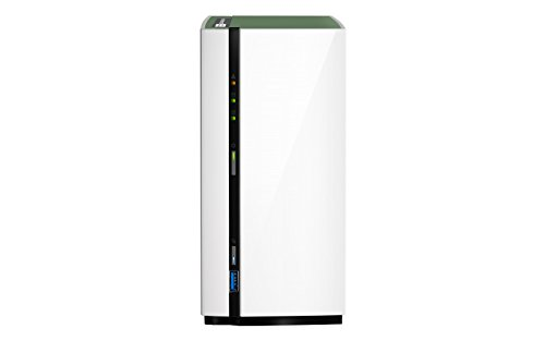 QNAP TS-228A NAS Mini Tower Ethernet LAN White storage server - NAS & Storage Servers (HDD, Serial ATA III, 3.5