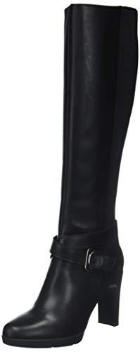 Geox D Annya High F, Botas Altas para Mujer, (Black C9999), 35 EU