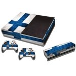 RISHIL WORLD Finnish Flag Pattern Decal Stickers for Xbox One Game Console