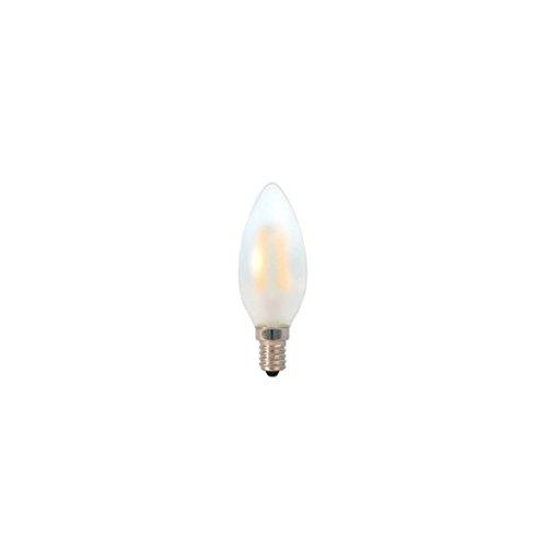 Preisvergleich Produktbild LED Kerze Filament gefrostet 3W 2700K warmweiß E14