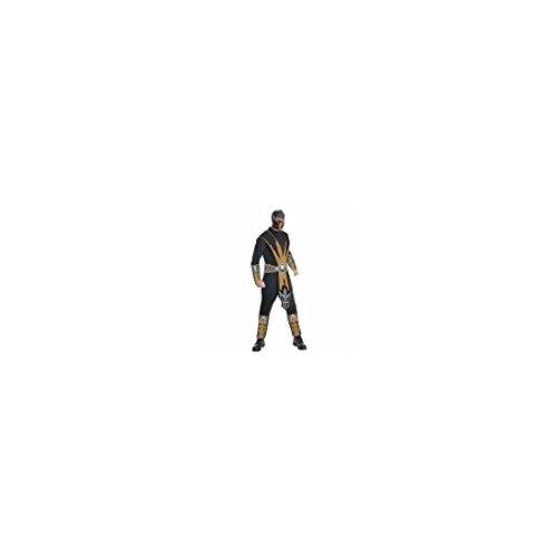 Generique - Mortal Kombat Scorpion-Kostüm für Herren Einheitsgröße