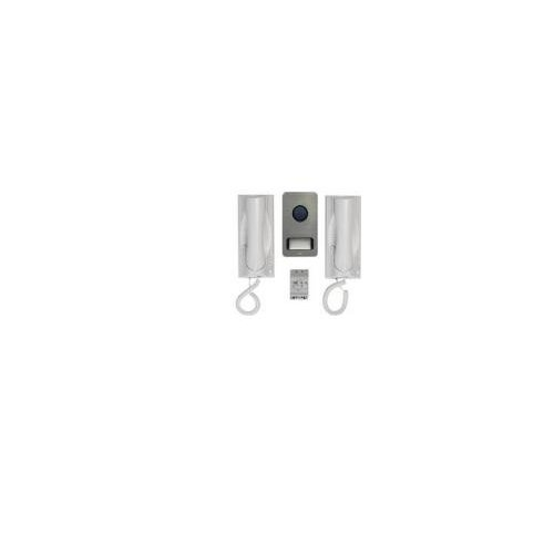 Grothe Door Intercom Set 1122/5022Phones/Push Door Intercom Set 4011459743277