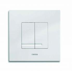 WISA XS Excellent WC Bedienungsplatte Delos DF weiß