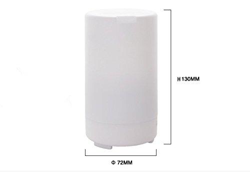 Mini USB aromaterapia creativo muto purificatore d'aria umidificatore a nebulizzazione ad ultrasuoni
